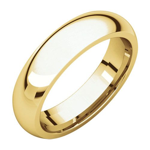 Comfort fit Wedding Band, 5mm
