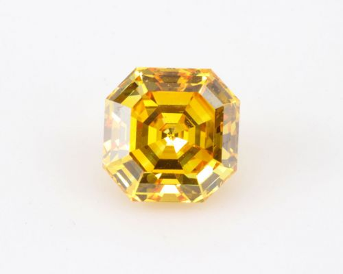 Asscher 1.88 Carat Fancy Diamond