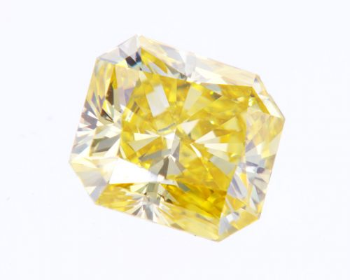 Radiant 1.46 Carat Fancy Diamond