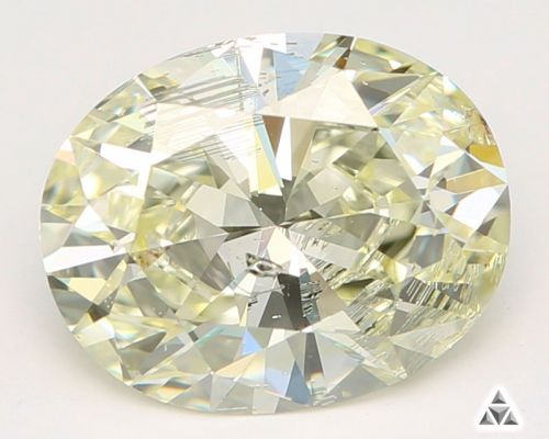 Oval 1.47 Carat Fancy Diamond