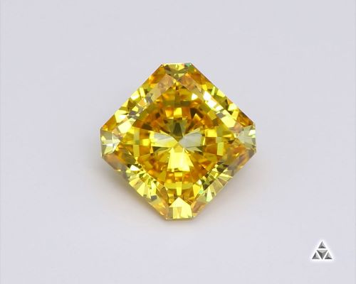 Radiant 0.92 Carat Fancy Diamond