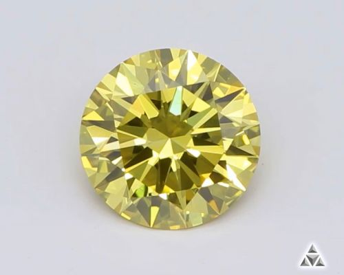 Round 0.52 Carat Fancy Diamond