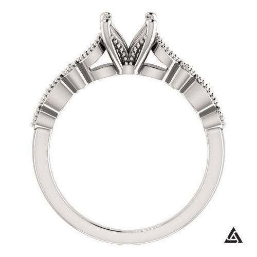 Vintage Inspired Engagement Ring Setting