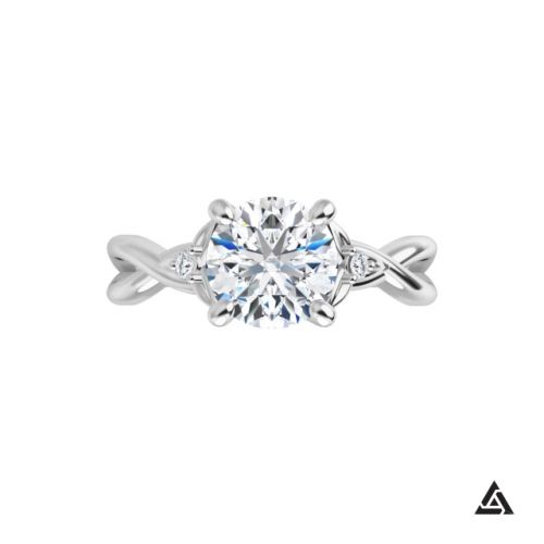 1.00 CTW Diamond Engagement Ring