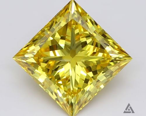 Princess 1.55 Carat Fancy Diamond